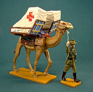 BG262 Camel Field Ambulance, ALH Brigade WWI from Beau Geste - Piers Christian Toy Soldiers - 1