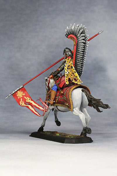 YZ54021 - Polish Winged Hussar (1672-83) from YZCaesar - Piers Christian Toy Soldiers - 4