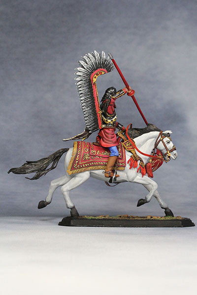 YZ54021 - Polish Winged Hussar (1672-83) from YZCaesar - Piers Christian Toy Soldiers - 5