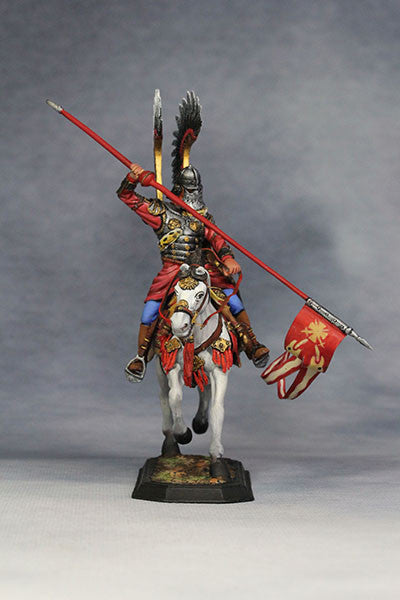 YZ54021 - Polish Winged Hussar (1672-83) from YZCaesar - Piers Christian Toy Soldiers - 6