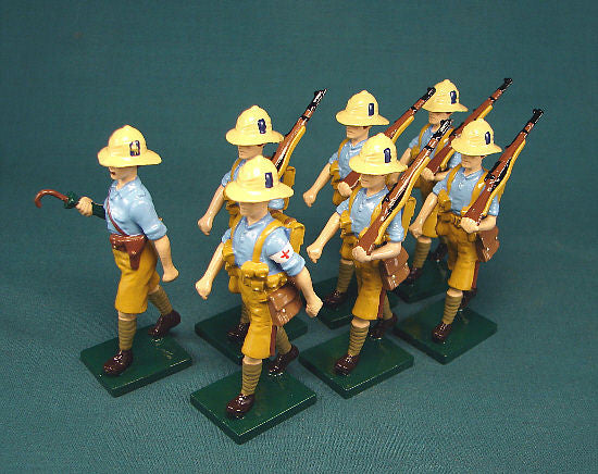 BG273 - 1916-17 Royal Sussex Infantry, Sinai, by Beau Geste WWI - Piers Christian Toy Soldiers