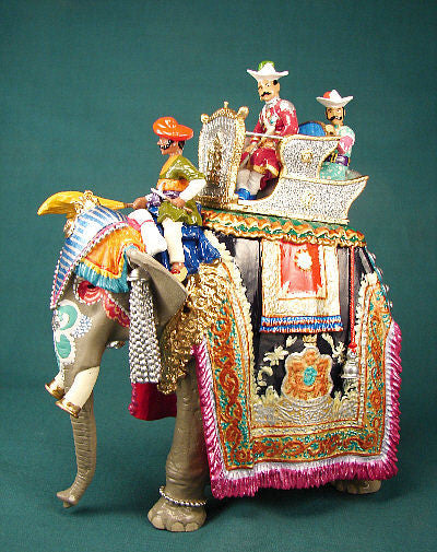BG274 - Elephant of Gwalior for the Delhi Durbar of 1903 from Beau Geste - Piers Christian Toy Soldiers - 1