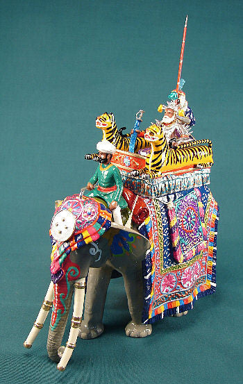 BG275 - Elephant of the Executioner of Rewa for the Delhi Durbar of 1903 from Beau Geste - Piers Christian Toy Soldiers