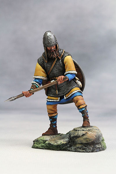 YZ54022 - Viking with Axe (10th Century A.D.) from YZCaesar (Seil Figures) - Piers Christian Toy Soldiers - 1