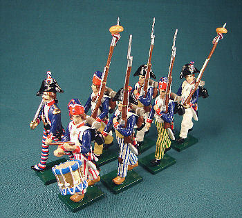 BG279 - French Revolutionary Infantry of 1792-96, by Beau Geste - Piers Christian Toy Soldiers