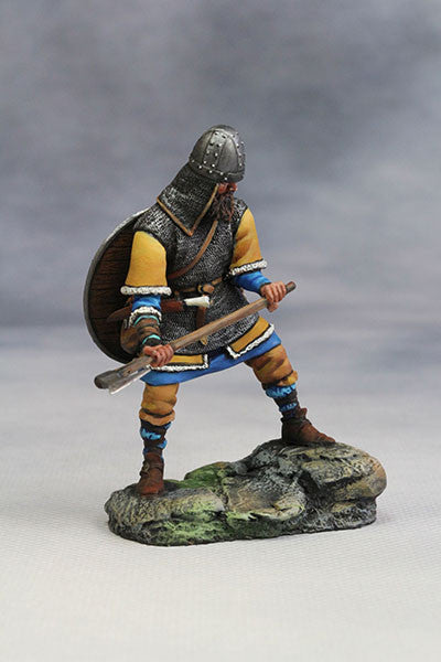 YZ54022 - Viking with Axe (10th Century A.D.) from YZCaesar (Seil Figures) - Piers Christian Toy Soldiers - 3