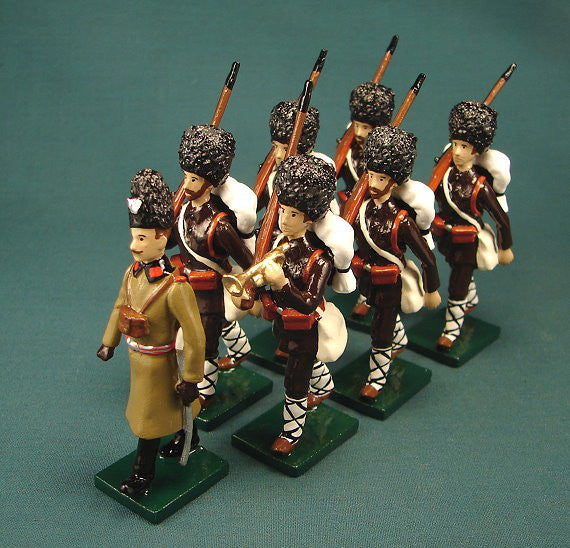 BG288 - Bulgarian Infantry Reservists,  Beau Geste WWI - Piers Christian Toy Soldiers