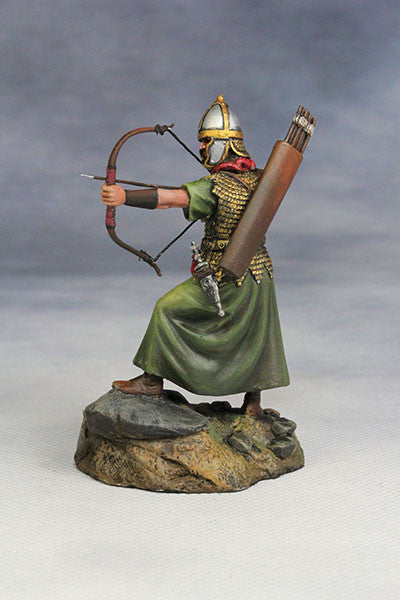YZ54024 - Roman Archer (The 1st Century A.D.)from YZCaesar - Piers Christian Toy Soldiers - 3