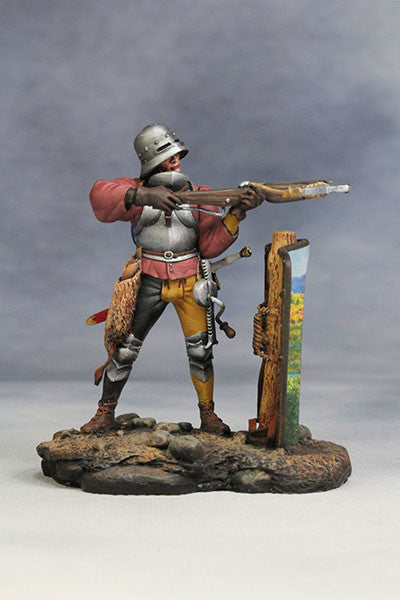 YZ54025 - Crossbowman with Shield (14th-15th Century A.D.) YZCaesar - Piers Christian Toy Soldiers - 1