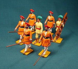 BG318 - Escort from Gwalior for the Delhi Durbar of 1903 from Beau Geste - Piers Christian Toy Soldiers - 1