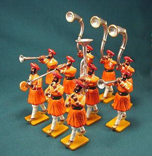 BG319 - Music Escort from Gwalior for the Delhi Durbar of 1903 from Beau Geste - Piers Christian Toy Soldiers - 1