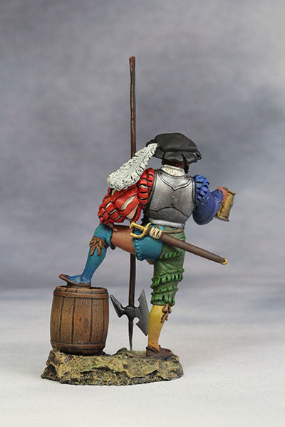 YZ54030 - Landsknecht with Beer (15th Century A.D.) from YZCaesar - Piers Christian Toy Soldiers - 3