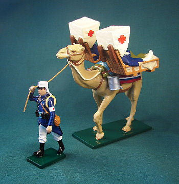 BG347- Beau Geste French Foreign Legion of 1900, Camel Ambulance - Piers Christian Toy Soldiers - 1