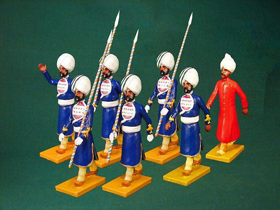 BG351 - Escort guard of Kapurthala for the Delhi Durbar of 1903 from Beau Geste - Piers Christian Toy Soldiers - 1
