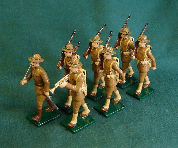 BG354 - Band of the American Doughboys, US Infantry by Beau Gest WWI - Piers Christian Toy Soldiers