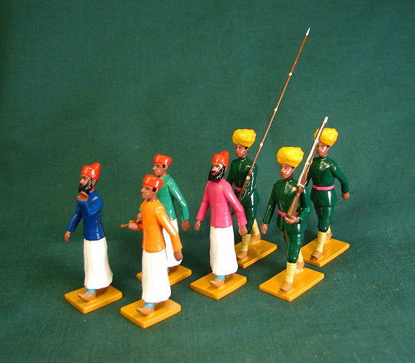 BG356- Escort of Bundi (right) for the Delhi Durbar of 1903 from Beau Geste - Piers Christian Toy Soldiers