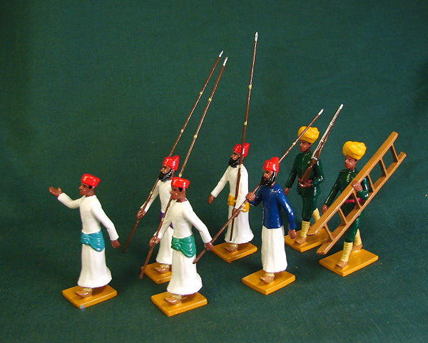 BG357 - Escort of Bundi (left) for the Delhi Durbar of 1903 from Beau Geste - Piers Christian Toy Soldiers - 1