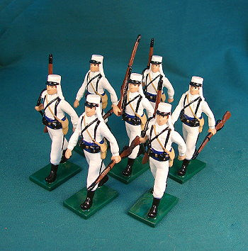 BG366 - Beau Geste French Foreign Legion Marching in Campaign Dress 1907 - Piers Christian Toy Soldiers - 1