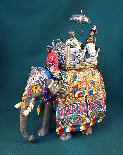 BG373 - Elephant of the Maharaja of Kotah for the Delhi Durbar of 1903 from Beau Geste - Piers Christian Toy Soldiers - 1