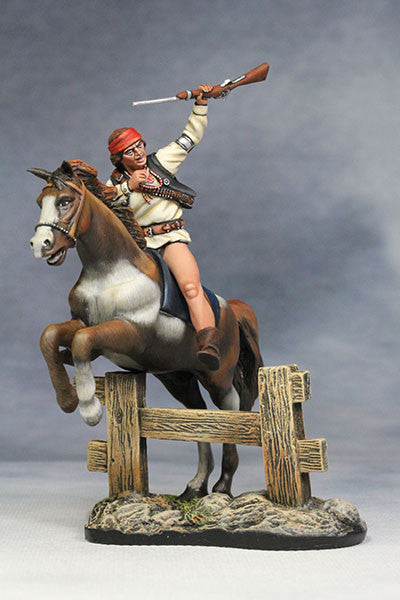 YZ54034 - 19th Century Apache Warrior made by YZCaesar - Piers Christian Toy Soldiers - 1