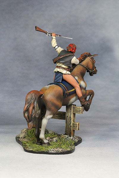 YZ54034 - 19th Century Apache Warrior made by YZCaesar - Piers Christian Toy Soldiers - 3