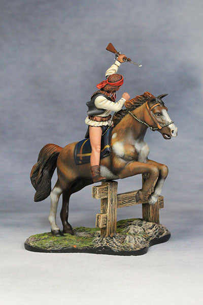 YZ54034 - 19th Century Apache Warrior made by YZCaesar - Piers Christian Toy Soldiers - 4