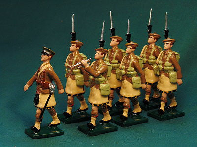 BG391A - Scottish Infantry with Beret, Beau Geste WWI - Piers Christian Toy Soldiers