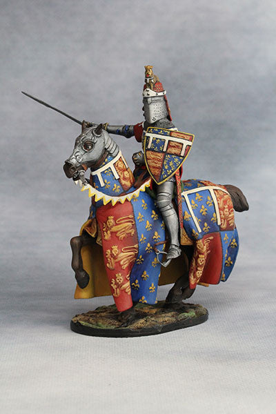 YZ54035 - Edward the Black Prince (1330-76) from YZCaesar - Piers Christian Toy Soldiers - 1