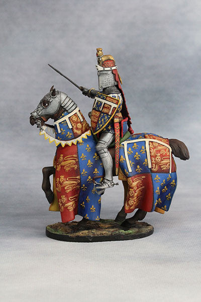 YZ54035 - Edward the Black Prince (1330-76) from YZCaesar - Piers Christian Toy Soldiers - 2