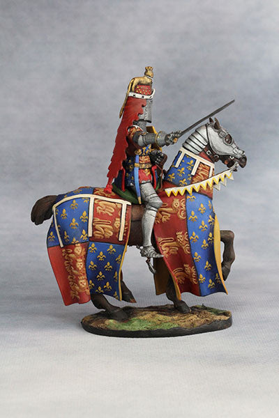 Edward the Black Prince (1330-76) from YZCaesar - Piers Christian Toy Soldiers - 5