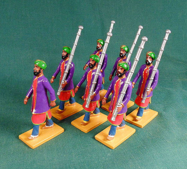 BG399 - Macebearers of Jaipur  for the Delhi Durbar of 1903 from Beau Geste - Piers Christian Toy Soldiers - 1