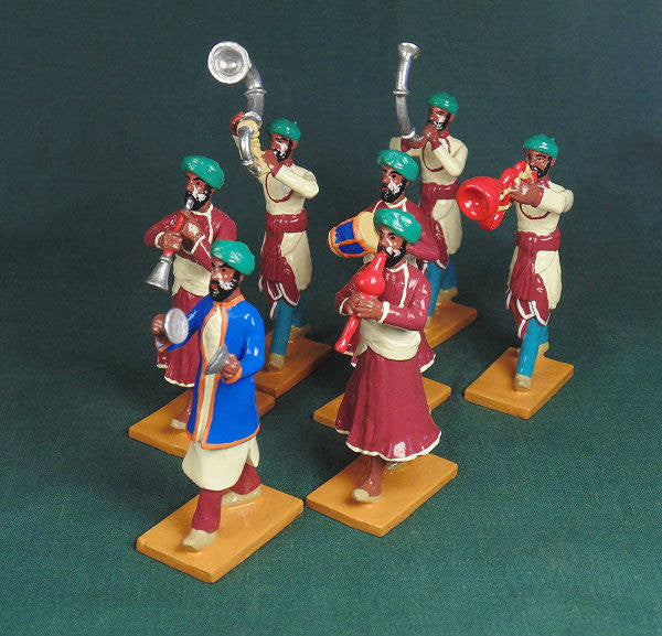 BG401 - Music Band of Jaipur  for the Delhi Durbar of 1903 from Beau Geste - Piers Christian Toy Soldiers - 1