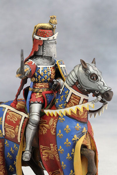 Edward the Black Prince (1330-76) from YZCaesar - Piers Christian Toy Soldiers - 2