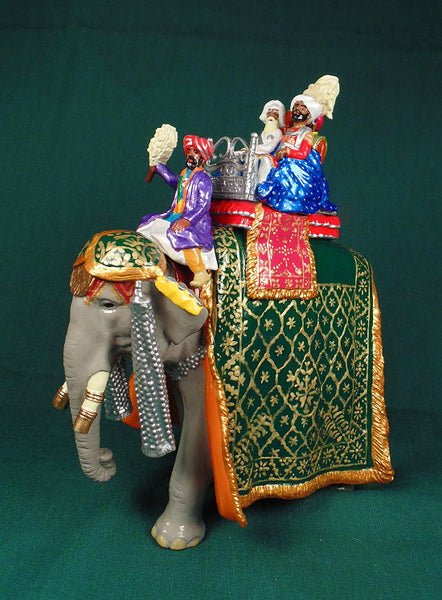BG405 - State Elephant of Nabha  for the Delhi Durbar of 1903 from Beau Geste - Piers Christian Toy Soldiers - 1