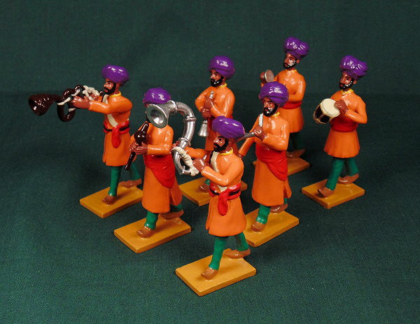 BG408 - Music Band of Nabha  for the Delhi Durbar of 1903 from Beau Geste - Piers Christian Toy Soldiers - 1
