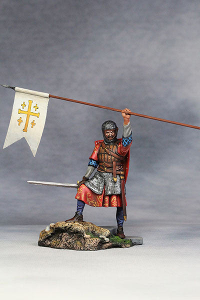 YZ54037 - Crusader, Kingdom of Jerusalem (12th Century A.D.) from YZCaesar - Piers Christian Toy Soldiers - 2