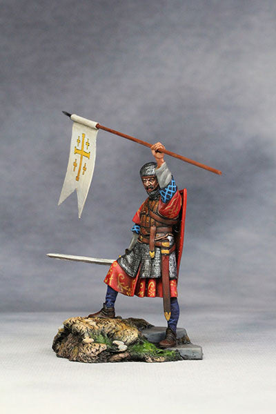 YZ54037 - Crusader, Kingdom of Jerusalem (12th Century A.D.) from YZCaesar - Piers Christian Toy Soldiers - 3