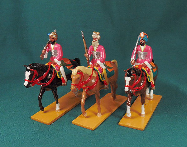 BG414 Elite Cavalry from Datia (set A). Delhi Durbar 1903 from Beau Geste - Piers Christian Toy Soldiers