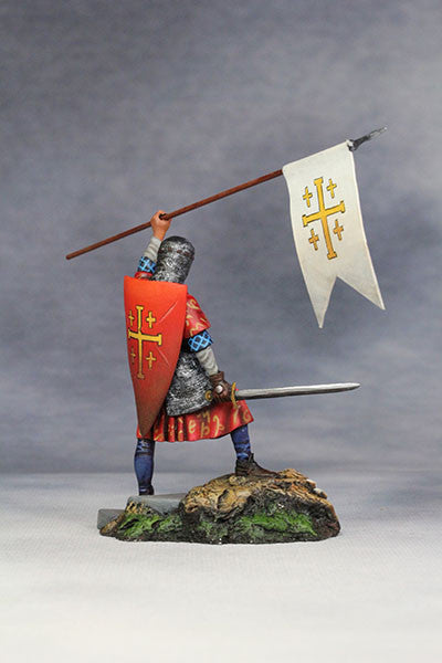 YZ54037 - Crusader, Kingdom of Jerusalem (12th Century A.D.) from YZCaesar - Piers Christian Toy Soldiers - 4