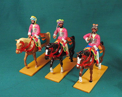 BG415 Elite Cavalry from Datia (set B). Delhi Durbar 1903 from Beau Geste - Piers Christian Toy Soldiers