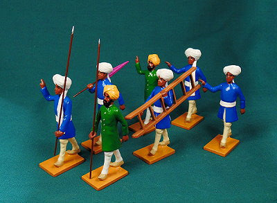 BG425 - Escort Group Left,  Delhi Durbar 1903 from Beau Geste Delhi Durbar - Piers Christian Toy Soldiers