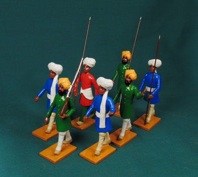 BG426 - Escort Group Right,  Delhi Durbar 1903 from Beau Geste Delhi Durbar - Piers Christian Toy Soldiers