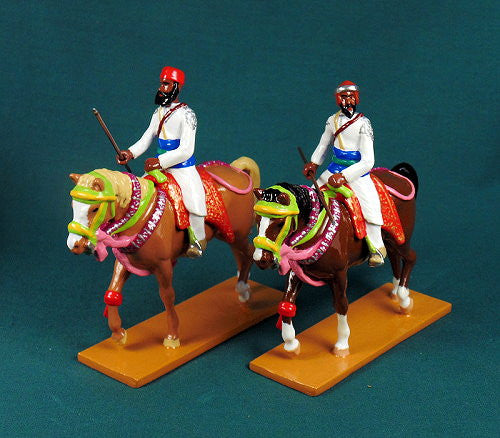 BG440 - Mounted Elite Cavalry of Bundi, Delhi Durbar 1903, made by Beau Geste. - Piers Christian Toy Soldiers - 1