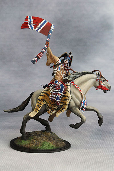 YZ54001 - Crow Warrior (19th century) from YZCaesar - Piers Christian Toy Soldiers