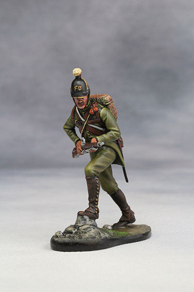 YZ54045 - Napoleonic Austrian Jager (1805) from YZCaesar (Seil Figures) - Piers Christian Toy Soldiers