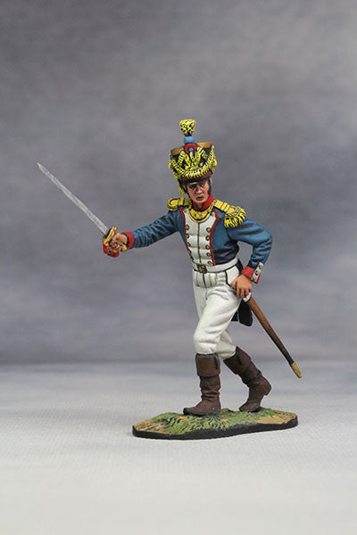 YZ54052 - Captain of French Line Infantry (1812) from YZCaesar - Piers Christian Toy Soldiers - 1
