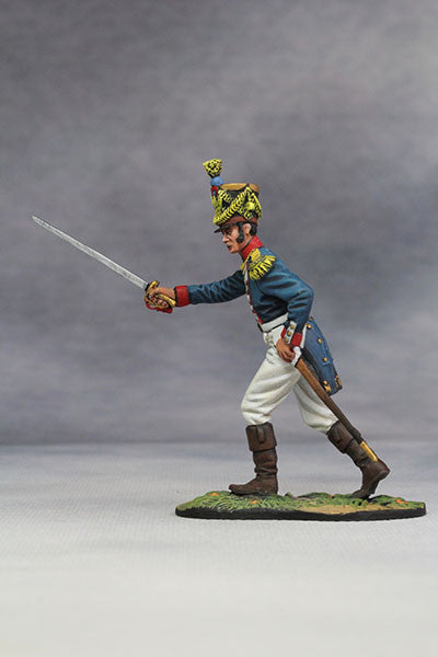 YZ54052 - Captain of French Line Infantry (1812) from YZCaesar - Piers Christian Toy Soldiers - 2