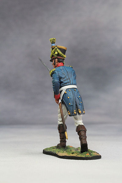 YZ54052 - Captain of French Line Infantry (1812) from YZCaesar - Piers Christian Toy Soldiers - 3