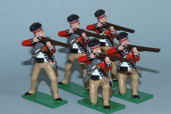 EA19 - 42nd Highlanders firing. Early American Wars from Regal