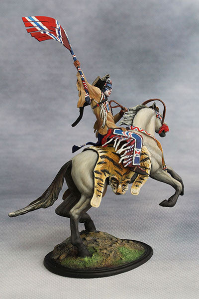 YZ54001 - Crow Warrior (19th century) from YZCaesar - Piers Christian Toy Soldiers - 3